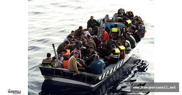 İzmir'de Göçmen Kaçakçılığı Operasyonu Yapıldı