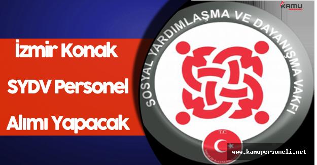 İzmir Konak SYDV Personel Alımı Yapacak