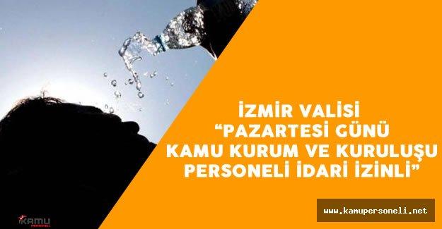 İzmir Valiliği Sıcak Havalara Karşı Vatandaşları Uyardı