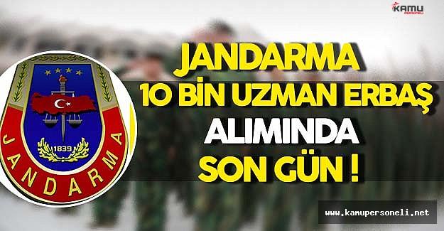 Jandarma En Az Lise Mezunu 10 Bin Personel Alımı İçin Son Gün !