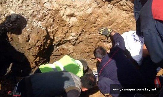 Kadıköy'de İnanılmaz Göçük Kazası