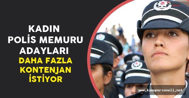 Kadın Polis Memuru Alımı için Kontenjan Artacak Mı?