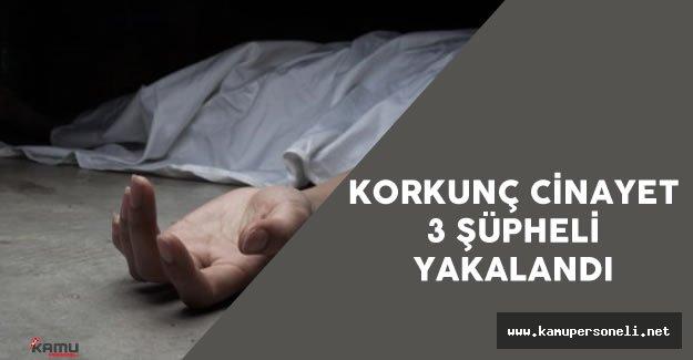 'Kağıthane Cinayeti' Şüphesiyle 3 Kişi Yakalandı