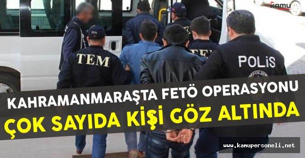 Kahramanmaraş'ta Belediye İdarecilerine Operasyon