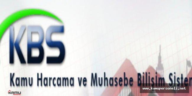 Kamu Personeli Harcamaları Yönetim Sistemi (KBS) Eğitim Ekranı Yayımlandı