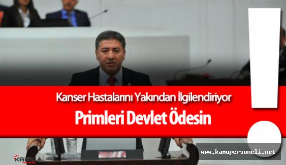 Kanser Hastalarını Yakından İlgilendiren Kanun Teklifi Mecliste