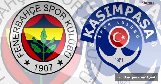 Kasımpaşa'da Fenerbahçe Maçı Hazırlıkları Sürüyor