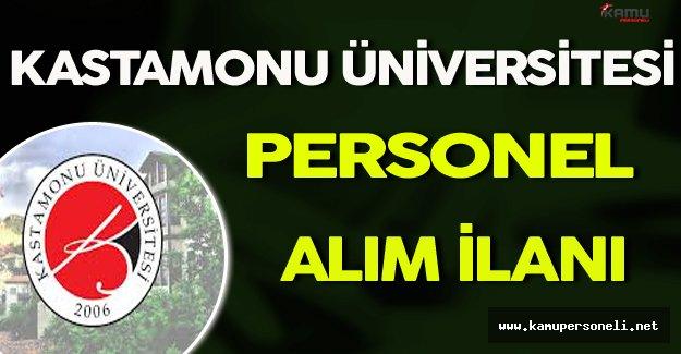 Kastamonu Üniversitesi Personel Alımı Yapıyor