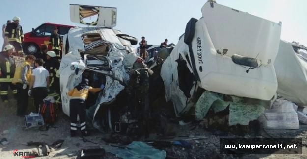 Kaza Değil Katliam-10 Kişinin Cenazesi Memleketlerinde