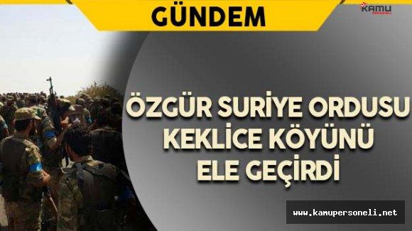 Keklice Köyü DAEŞ'ten Alındı