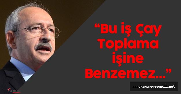 "Kemal Kılıçdaroğlu: ""Esnaf mı bu işin sorumlusu?"""