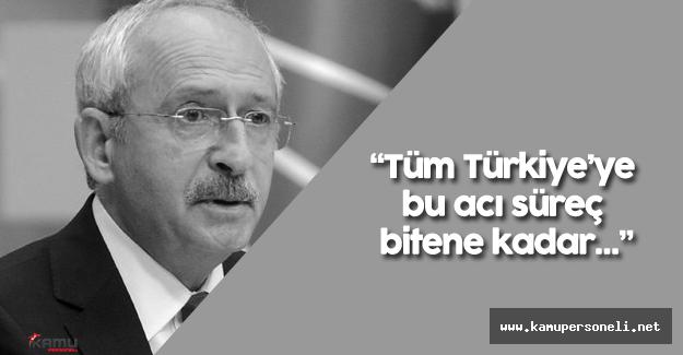 """Kemal Kılıçdaroğlu:""""Kandan beslenen herkese lanet olsun"""""""