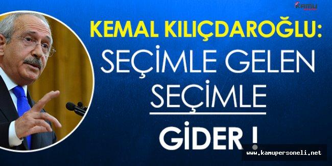 Kemal Kılıçdaroğlundan HDP Milletvekillerinin Gözaltına Alınmasına İlişkin Flaş Açıklama