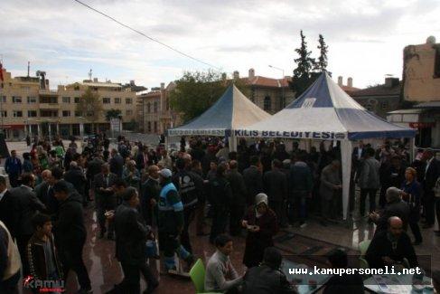 Kilis Belediyesinden Vatandaşlara Ramazan Yardımı Yapıldı