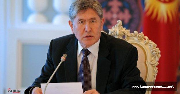 Kırgızistan Cumhurbaşkanı İstanbul Saldırısını Kınadı
