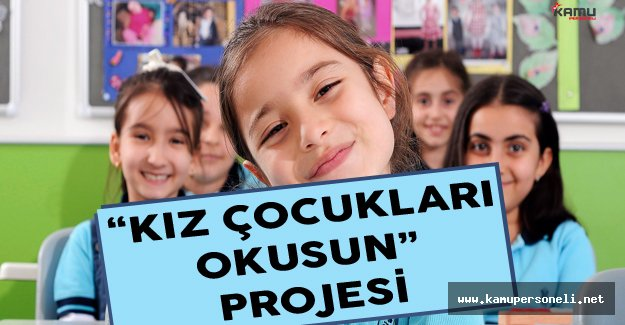'Kız Çocukları Okusun' Projesi Kapsamında Eğitim Verildi