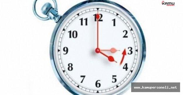 KKTC'de Kış Saati Uygulaması Sona Erdi