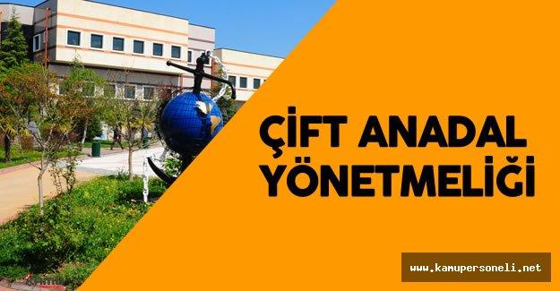 Kocaeli Üniversitesi Çift Anadal Yönetmeliği Yayımlandı