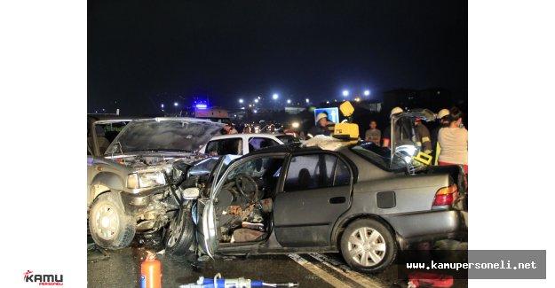 Kocaelinde Zincirleme Trafik Kazası Ölü ve Yaralılar Var