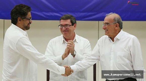 Kolombiya'da 52 Yıllık Savaş Sonunda Bitti