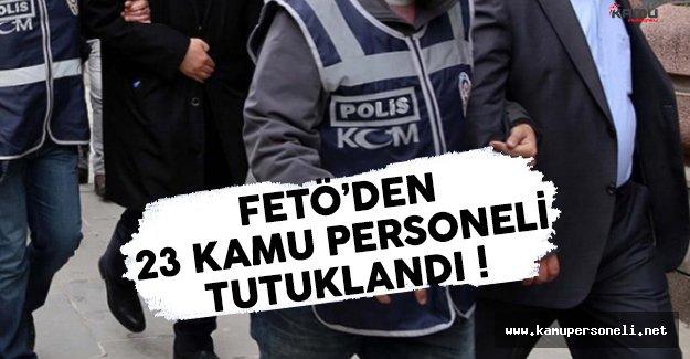 Konya'da FETÖ'den 23 Kamu Personeli Gözaltına Alındı