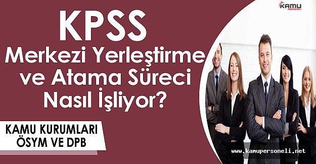 KPSS Merkezi Yerleştirme ve Atama Süreci Nasıl İşliyor? (Kamu Kurumları, ÖSYM ve DPB)