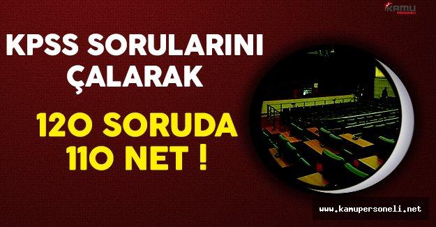 KPSS Sorularını Çalarak 120 Soruda 110 Net !
