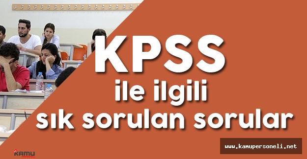 KPSS'ye Dair Sık Sorulan Sorular ve Cevapları