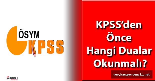 KPSS'den Önce Hangi Dualar Okunmalı?