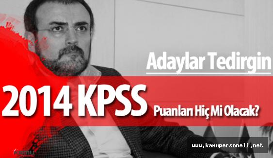 Kültür Bakanlığı 2014 KPSS'ye Girenleri Mağdur Mu Edecek?