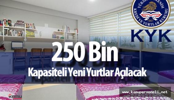"""KYK Genel Müdürü:  """"Üniversiteler için 250 Bin  Kapasiteli Yurtlar Açılacak"""""""