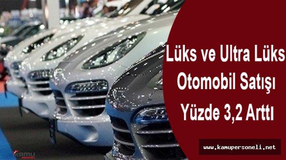 Lüks Otomobillerin Satışı 13 bin 248'e Ulaştı