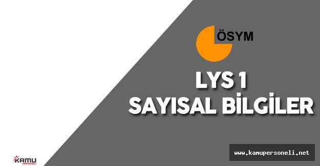 LYS 'ye Kaç Kişi Girdi ( LYS1 için Başvuru Sayısı Kaç? LYS'de Sınavı Geçersiz Sayılan Kaç Kişi Var)
