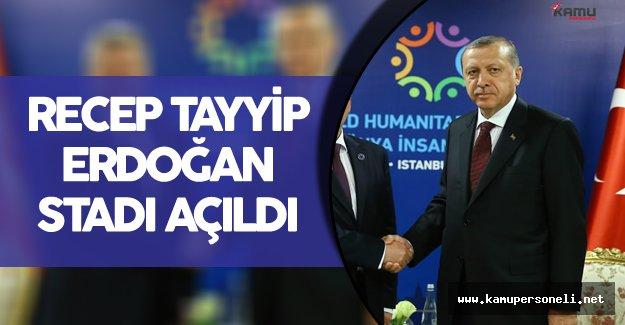 Makedonya'nın Gostivar Şehrinde Recep Tayyip Erdoğan Stadı Açıldı