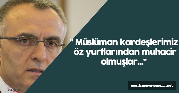 """Maliye Bakanı Naci Ağbal: """"Bir defa daha düşünmemiz lazım"""""""