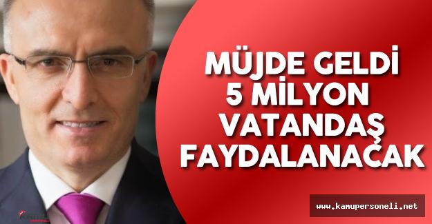 Maliye Bakanı Naci Ağbal'dan 5 Milyon Vatandaşı Yakından İlgilendiren Borç Açıklaması