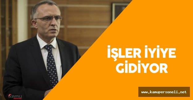 Maliye Bakanı Naci Ağbal'dan İşsizlik Oranı Açıklaması