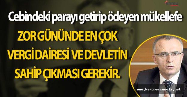 Naci Ağbal' dan Vergi Borcu Yapılandırmalarının Son Durumu