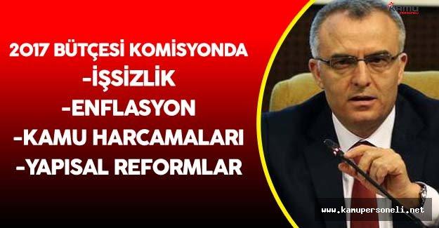 Maliye Bakanı Naci Ağbal Meclis Plan ve Bütçe Komisyonu'nda Konuştu