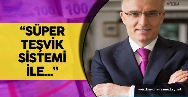 Maliye Bakanı'ndan Süper Teşvik Sistemi Açıklamaları