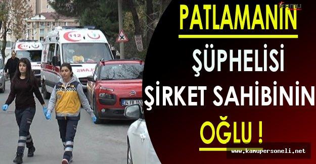 Maltepe'deki Patlamanın Şüphelisi Olarak Şirket Sahibinin Oğlu Gözaltına Alındı