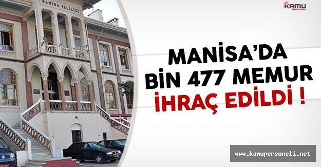 Manisa'da Bin 477 Kamu Görevlisi İhraç Edildi
