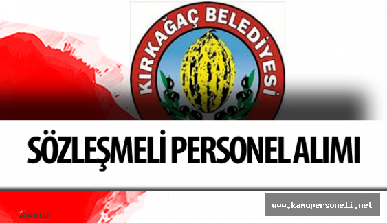 Manisa Kırkağaç Belediyesi Veteriner, Mühendis ve Mimar Alımı Yapacak