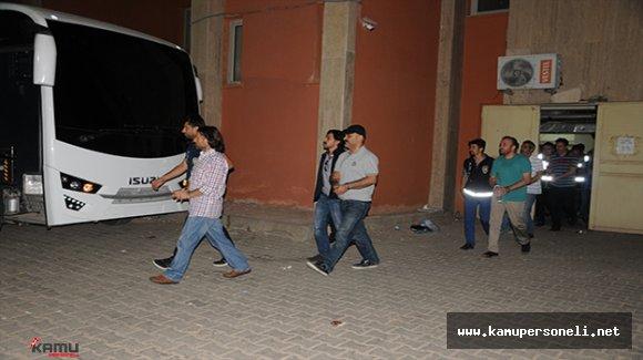 Mardin'de 16 Emniyet Mensubu Tutuklandı