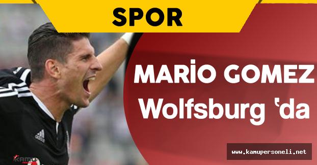 Mario Gomez Wolfsburg İle Resmen Anlaştı