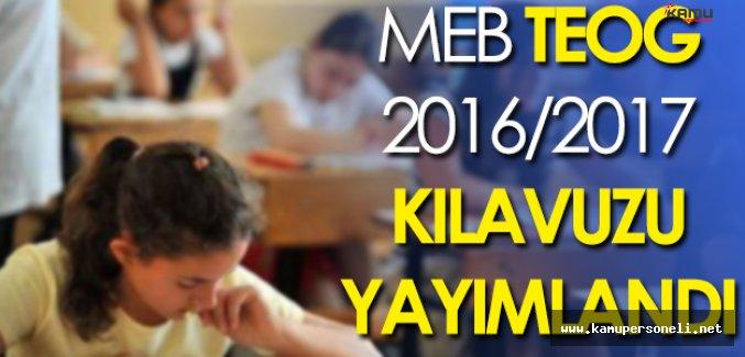 MEB 2016-2017 Öğretim Yılı TEOG Kılavuzunu Yayımladı