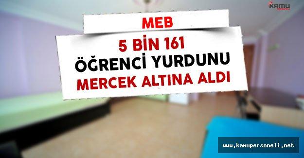 MEB 5 Bin 161 Öğrenci Yurdunu İncelemeye Aldı
