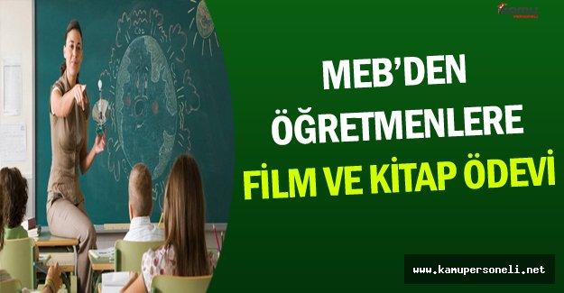 MEB'den Öğretmenlere Film ve Kitap Ödevi