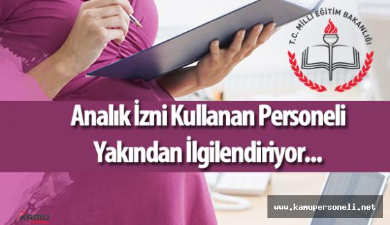 """MEB İnsan Kaynakları Genel Müdürlüğü """"Doğum Sonrası Analık İzni"""" Duyurusu Yaptı"""