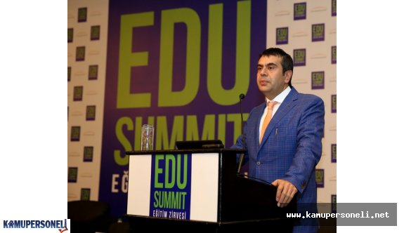 MEB Müsteşarı Eğitim Zirvesine Katıldı